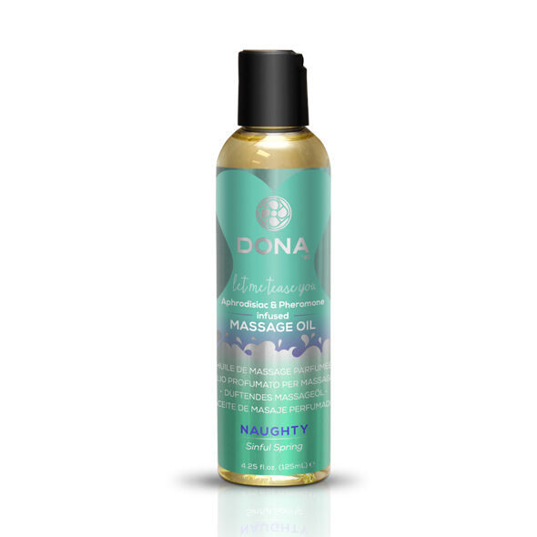 Profumato Olio per massaggio Massage Oil Sinful Spring 125 ml - Dona