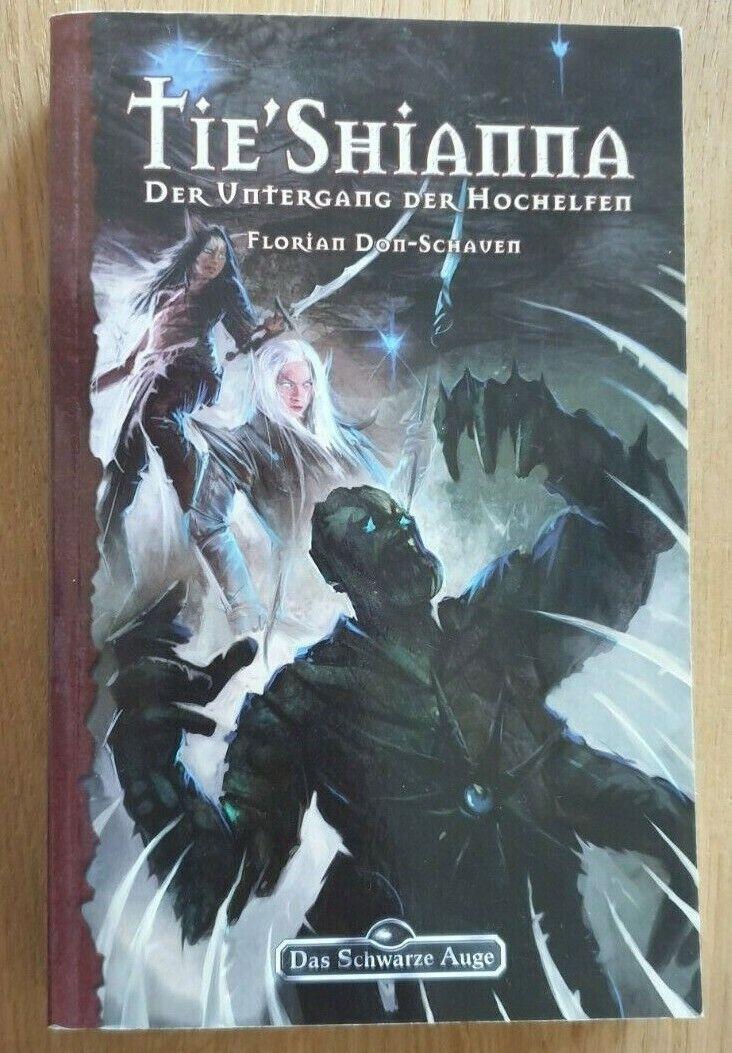 Buch - DSA 124 TIE' SHIANNA von Florian Don-Schauen Das schwarze Auge - Don-Schauen