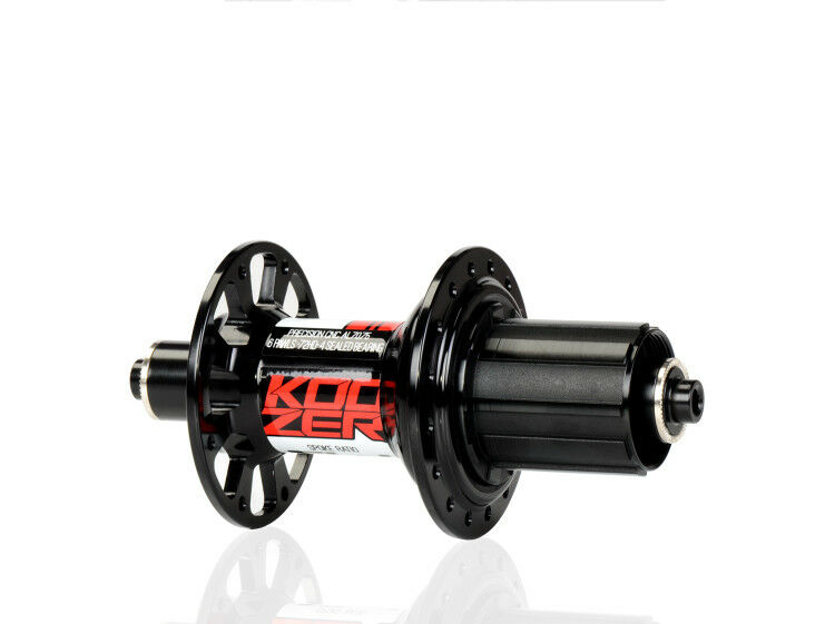 KOOZER RS390 Hubs Road Racing Bike 100/130mm 4 Bearing 72D 24 Hole Rear Hub B/R