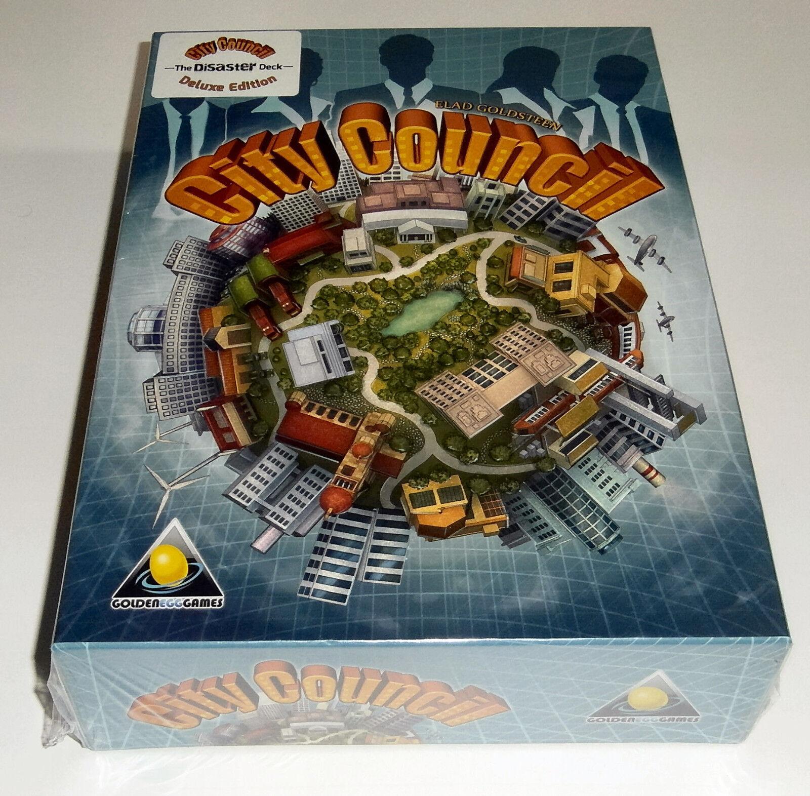 City Council Deluxe Edition - golden Egg Games - 2015