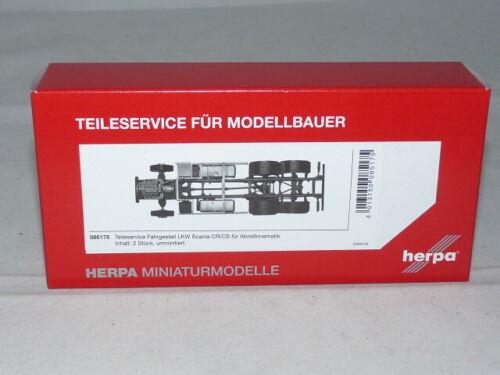 OVP herpa 085175 Fahrgestell LKW Scania CR//CS für Abrollkinematik 1:87 NEU