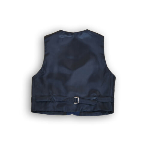 Boys Suits Boy Checked Pattern Suits 5 Piece 2 to 12 Years Blue Navy Suit