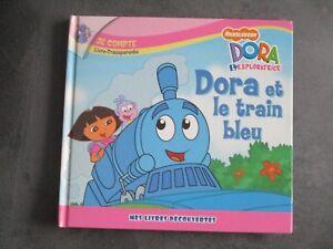 Details Sur Livre Enfant Dora L Exploratrice Dora Et Le Train Bleu 3 4 5 6 7 8 Ans Fille