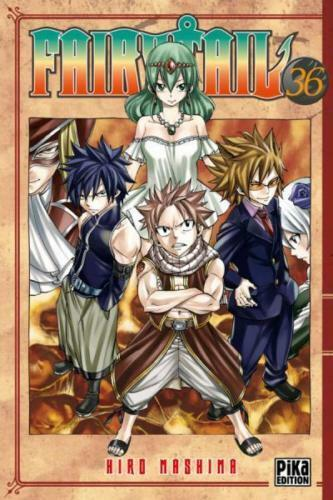 mangas Fairy Tail - Tome 36 , neuf