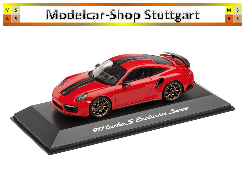 Porsche 911 Turbo S Exclusive Series Indischrot 2018 Spark 1 43 WAP0209060J neu    Exquisite Handwerkskunst