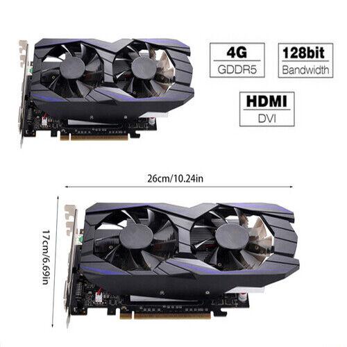 Desktop Graphic Card GTX1050TI 4GB DDR5 128Bit HDMI DVI VGA PCI-E Video Card New
