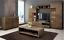 Living-room-furniture-set-glass-cabinet-Tv-unit-stand-display-LED-lights-shelf thumbnail 5