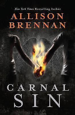 1 of 1 - Carnal Sin by Allison Brennan Large Paperback 20% Bulk Book Discount
