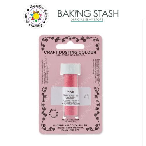 Sugarflair Craft Dust Powder Non Toxic Dusting Cake Decorating Colours