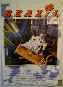 BRAZIL-ROBERT-DE-NIRO-TERRY-GILLIAM-1986-LARGE-FRENCH-MOVIE-POSTER-47-by-63