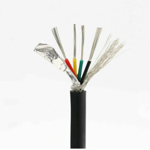 2 Core 8 Core 24AWG Shield Signal Cable Wire PVC UL 2464 Stranded Jacket Wires