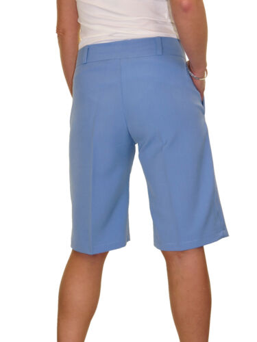 8 Shorts Ice blu 8 casual sartoriali lavabili da donna 1492 cielo 22 ffAvFxqS