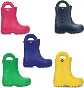 Stormwells Boys Camouflage Print Short Rain Wellies Wellington Boots Green//Brown