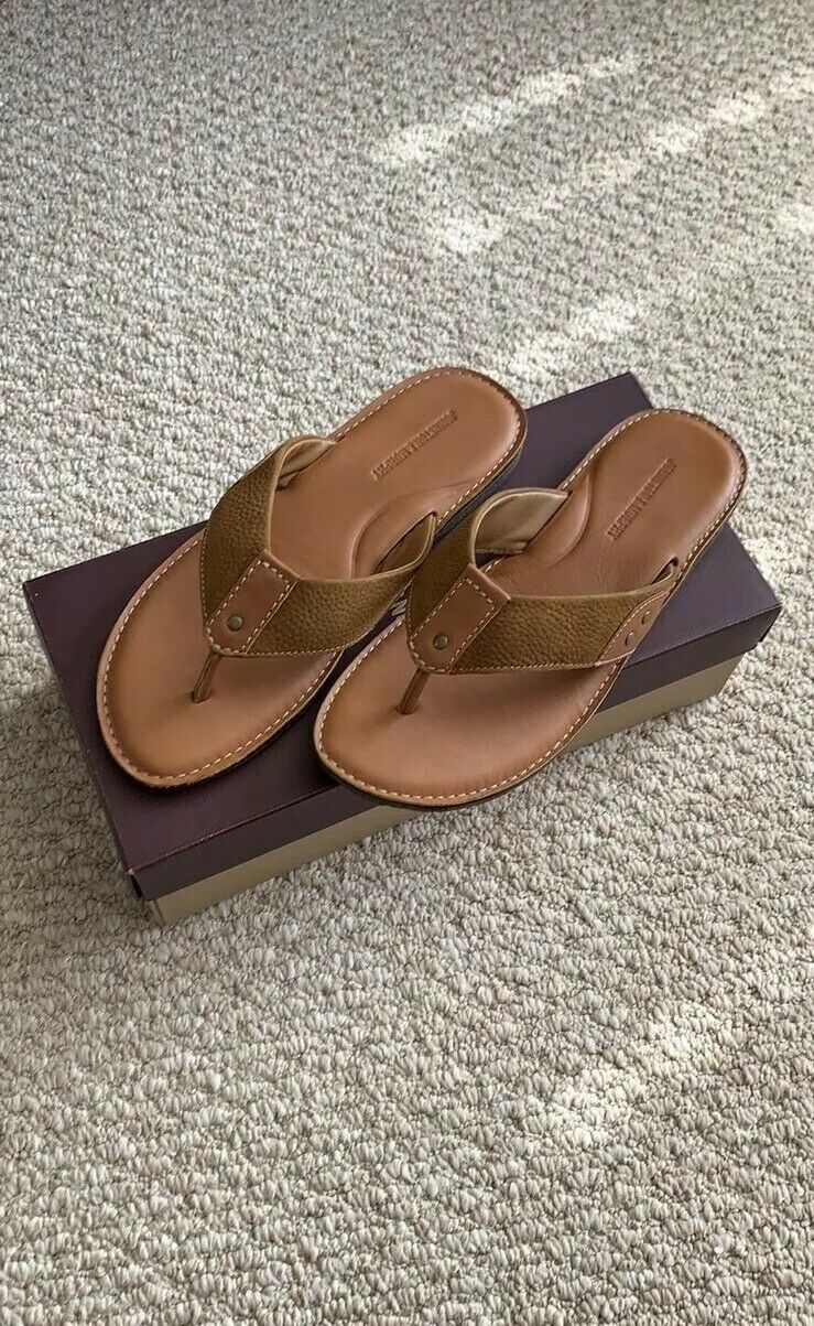 Johnston & Murphy men's leather sandals, Pre-owned. Very good good good condition. 11M. a653a3