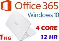 Asus X205ta 11.6 Win10 Office365 Atom Z3735f 2gb 32gb Bluetooth Netbook Laptop
