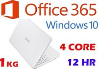 Asus X205ta 11.6 Win10 Office365 Atom Z3735f 2gb 32gb Bluetooth Netbook Laptop