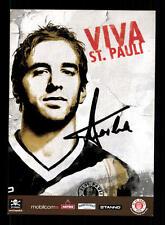 Fabio Morena Autogrammkarte FC St Pauli 2004-05 Original Signi+A 139599
