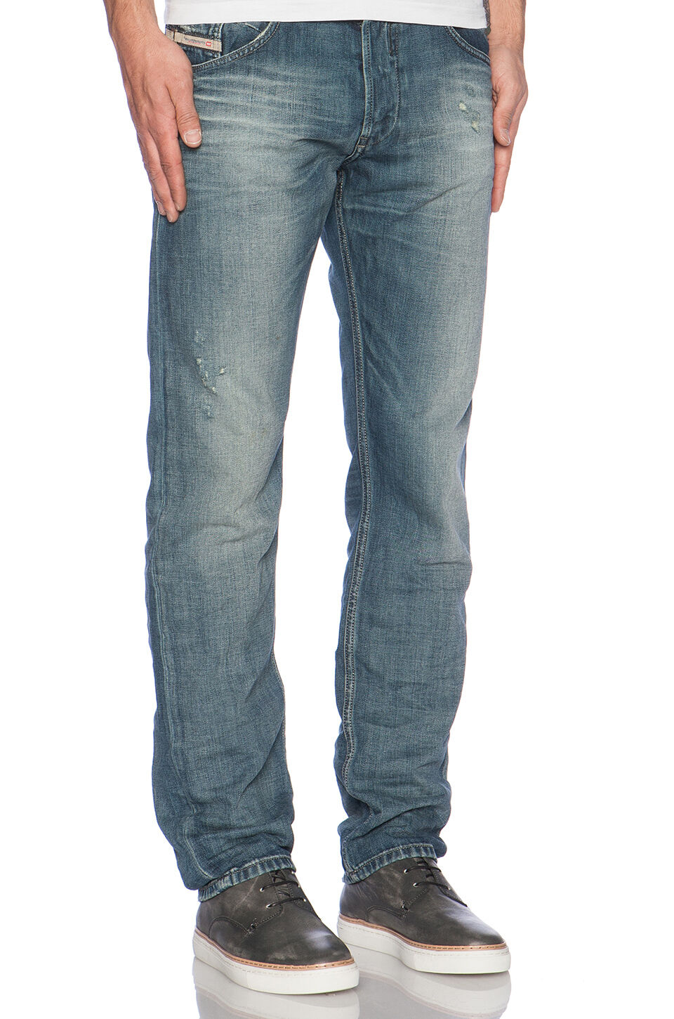 DIESEL BELTHER 0839K TAPErot JEANS W34 L32 100% AUTHENTIC