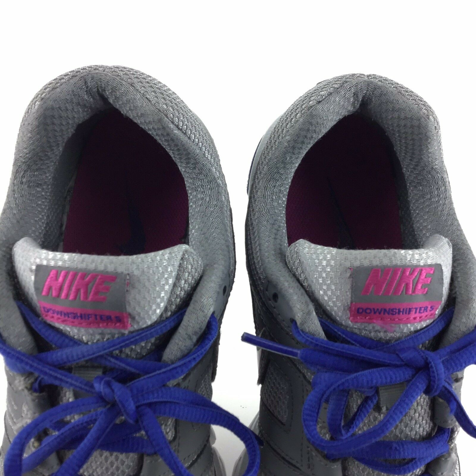 save off 786bd f85ea Nike Downshifter 5 Athletic Running Gray White SNEAKERS Casual Womens 9  Shoes A3 for sale online   eBay