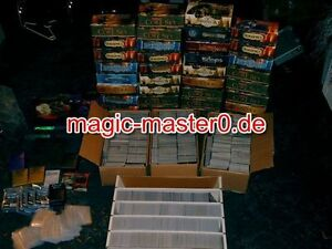 500 tarjetas Magic de colección rare/uncommon/Common top oferta