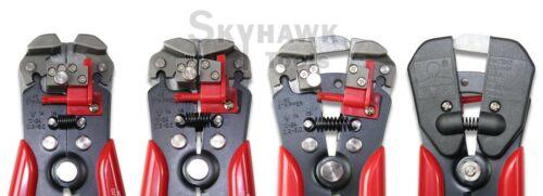 "8/"" Self Adjusting Wire Stripper Cutting Pliers Electrician Copper Aluminum Tool"