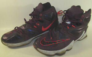 0c11bff8cd2 NIKE LEBRON XIII 13 WRITTEN IN THE STARS MEN MULBERRY PURPLE 807219 ...