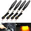 4PCS-12-LED-Motorcycle-Rear-Front-Turn-Signal-Light-Sequential-Flowing-Indicator thumbnail 5