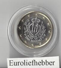 San Marino   OFFICIAL UNCIRCULATED 1 EURO COIN    2010