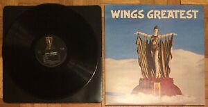 Wings-Wings-Greatest-LP-Record-Vinyl-Records-1978-MPL-PCTC-256-With-Poster