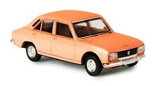 Peugeot  504 berline orange - Brekina - Echelle 1/87 (Ho)