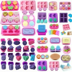 Silicone-Soap-Mold-Candy-Chocolat-Cookies-Cuisson-Moule-Bac-a-Glacons-Gateau-Decor