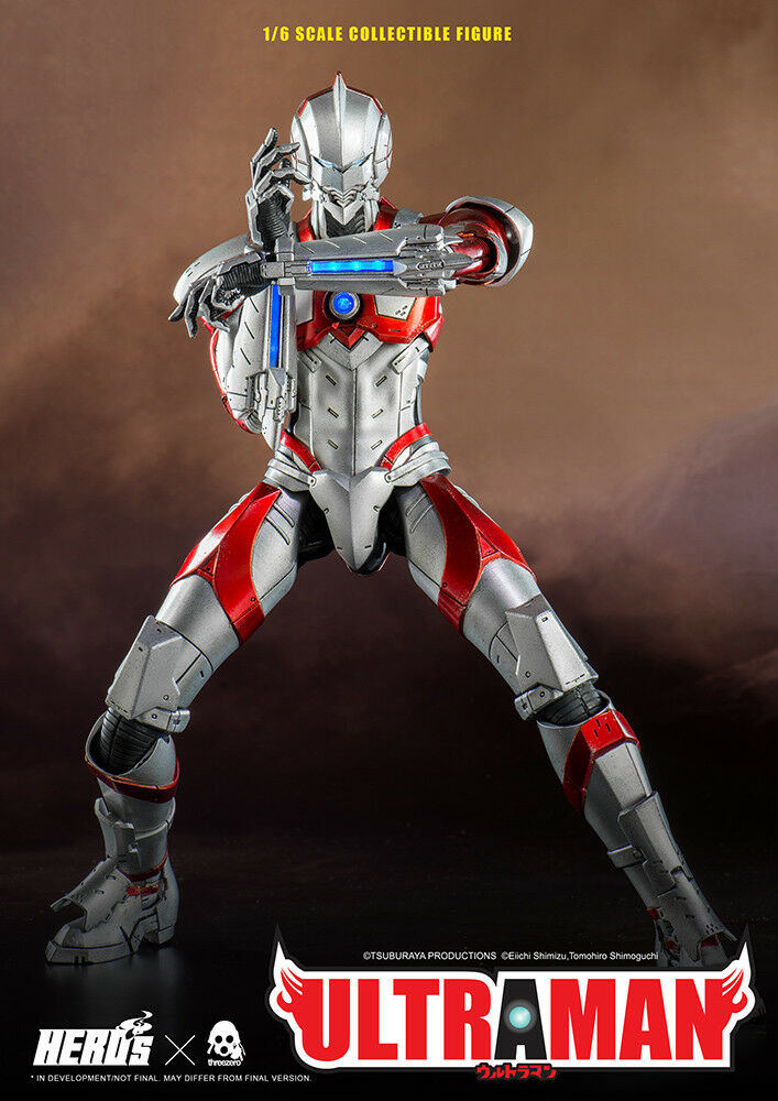 Ultraman 12' Ultraman Suit 1/6 Scale Action Figure THREEZERO