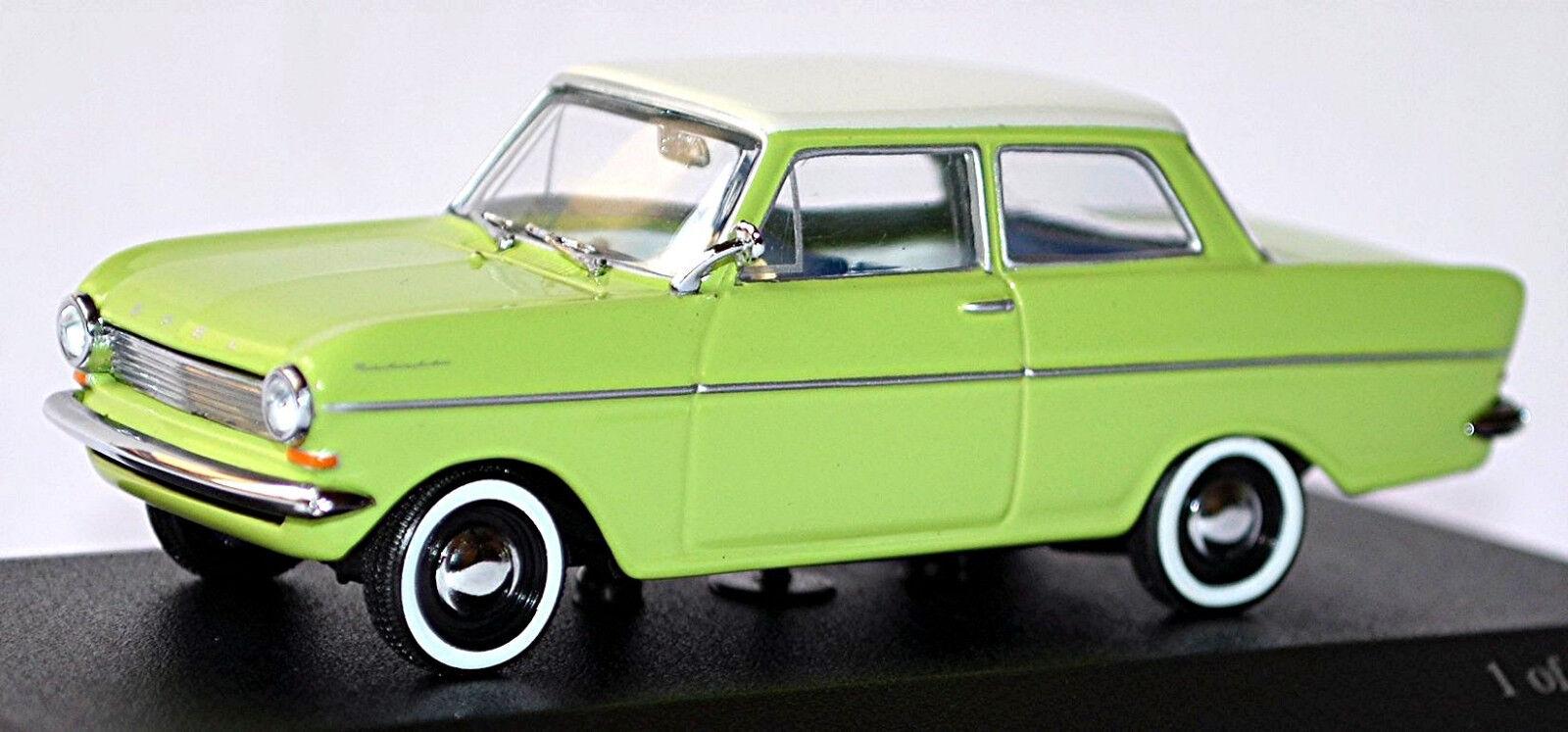 Opel Kadett A Limousine 1962-65 Vert + Blanc Vert + Blanc 1 43 Minichamps