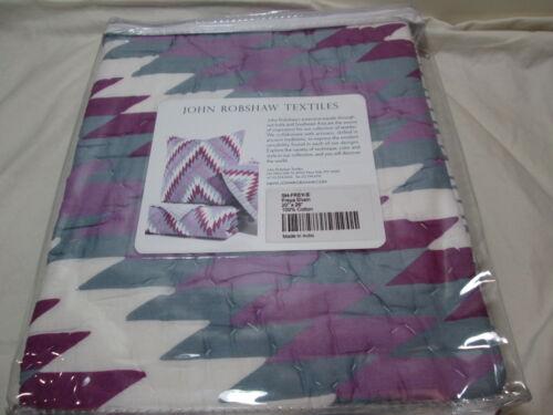 "New John Robshaw Textiles FREYA Standard Pillow Sham 20/""x26/"" NIP"