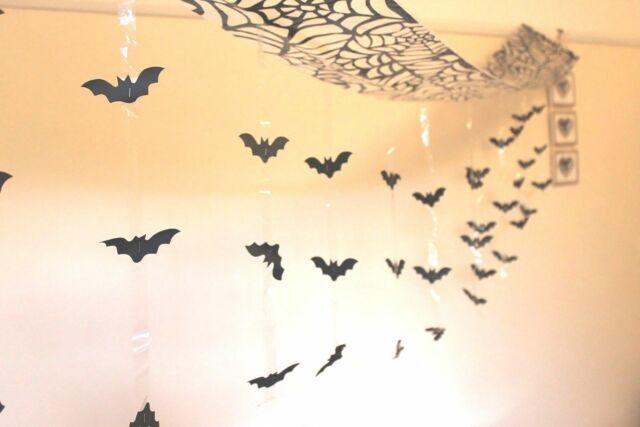 Bat Ceiling Decoration 3m Hanging Party