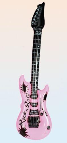 Farben Luftgitarre Musik Party feiern Konzert Aufblasbare Gitarre in versch