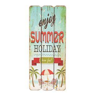 Clayre&Eef Holzbild Summer*Holiday* Neu Nostalgie Shabby ...