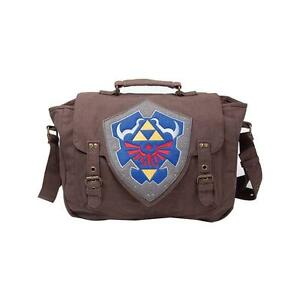 NINTENDO-Legend-of-Zelda-Hylian-Shield-Messenger-Bag-Brown-MB210116ZEL