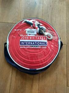 John Whitaker Longe Rêne Line, Rouge/bleu Marine/blanc-afficher Le Titre D'origine