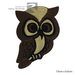 patch scarpe Sew per badge Owl vestiti Disney di on Iron ricamato Bird ecc borse fTxwYq71