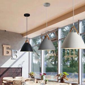 Bar White Lamp Kitchen Pendant Light Black Pendant Lighting Gray Ceiling Lights Ebay