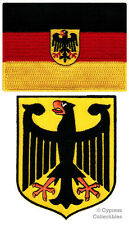 Deutschland Royal Coat Of Arms Imperial Eagle Dark Earth Germany Flag PVC Patch