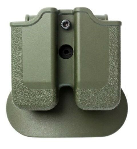 Z2040 IMI Defense Green Right Hand Double Magazine Pouch for RUGER SR9   CZ P-09