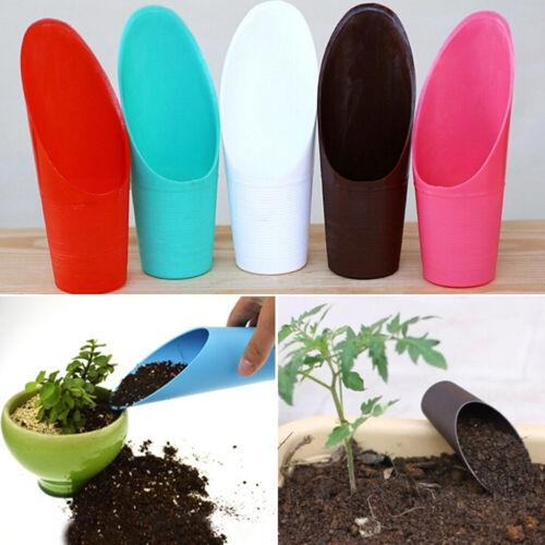 Plastic Bonsai Soil Scoop Gardening Tools Plant Heavy Duty Shovel Utility Helper