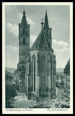 Bayern Ak Rothenburg Ob Der Tauber Alte Ansichtskarte Foto-ak Postcard Cx52