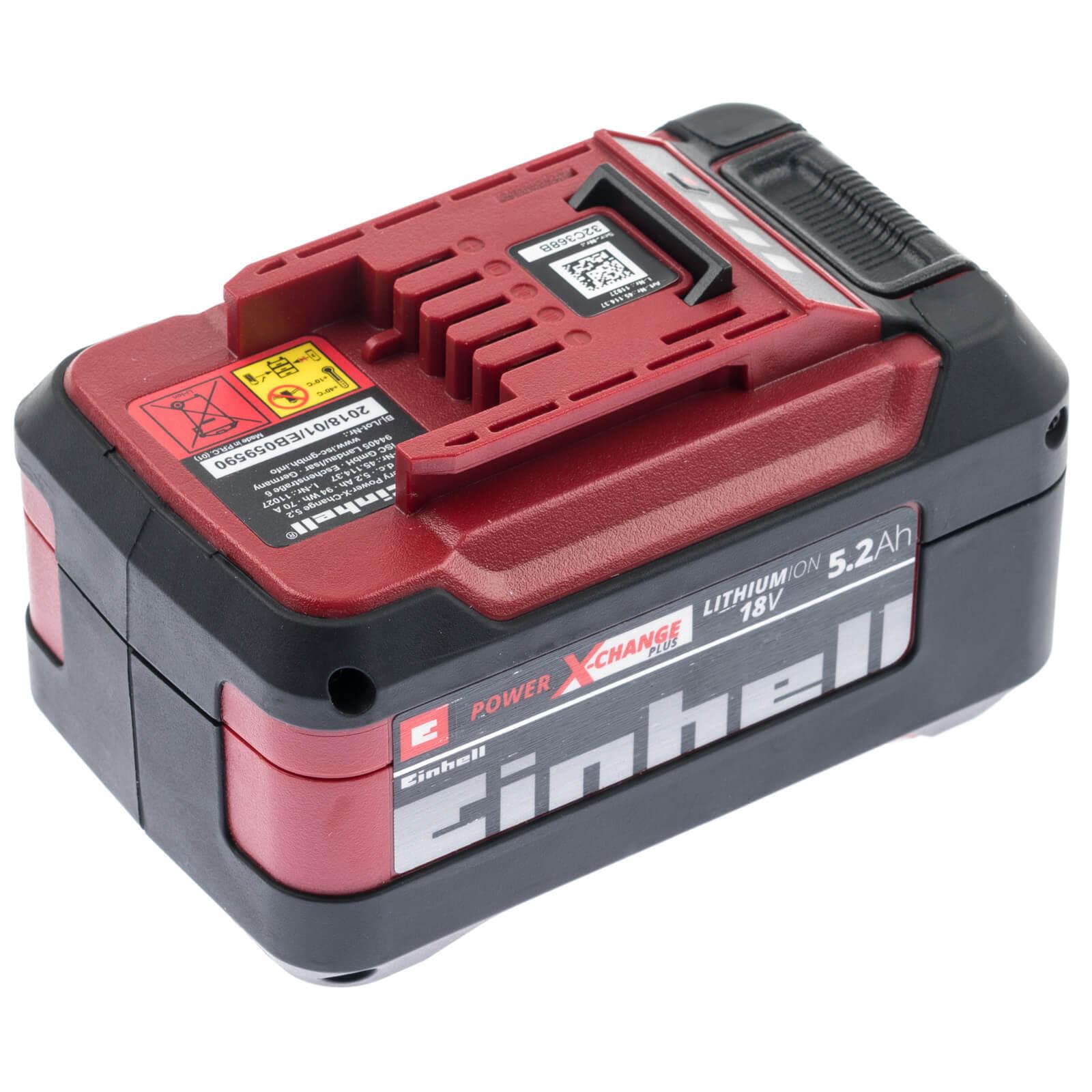 18 V passend für alle Power X-Change Geräte Einhell Lithium Ionen Akku 2,0 Ah