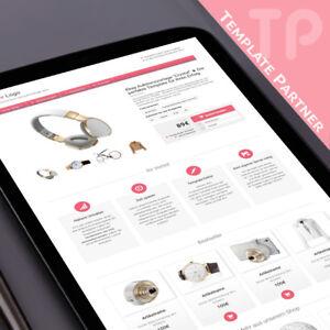 Ebay-Template-Kostenlos-Editor-dazu-CRYSTAL-Auktionsvorlage-rosa-Editor