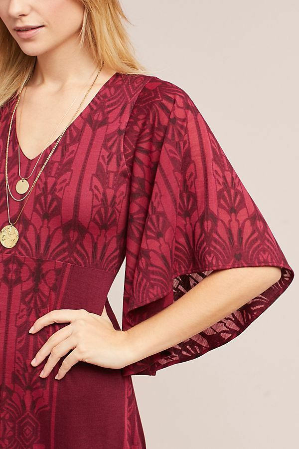 NWT Anthropologie Isolde Bell-Sleeved Dress by Akemi + Kin Size X-Small