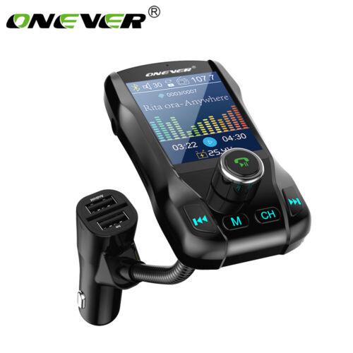 "1.8/"" LCD KFZ PKW Bluetooth FM Transmitter Auto Radio MP3 Musik Player USB SD AUX"