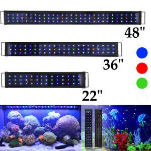 Aquarium-Full-Spectrum-Multi-Color-LED-Light-For-Freshwater-Fish-Tank-24-36-48